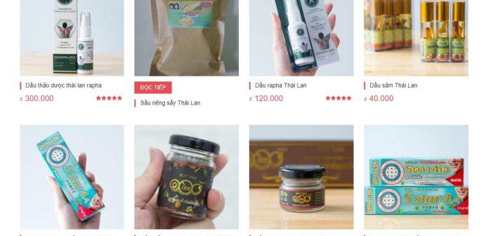 Đăng ký sản phẩm Thái Lan Online