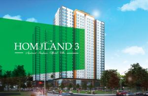Phối cảnh căn hộ Homyland 3