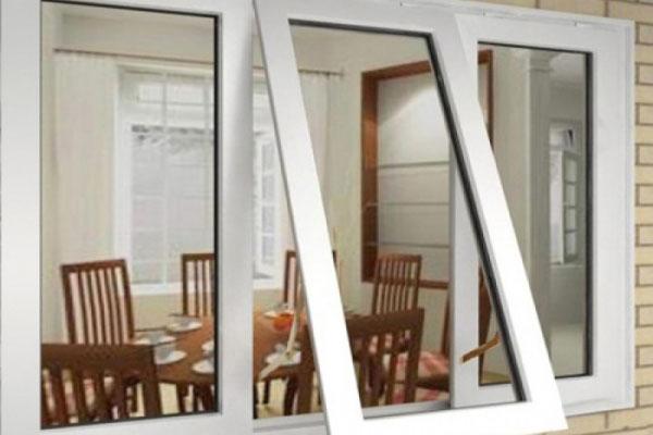 Cửa sổ mở quay hất nhôm Xingfa
