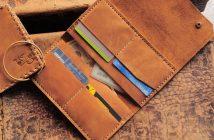 túi da bò được làm từ da bò nhập khẩu nguyên tấm