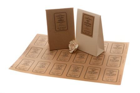 mẫu túi giấy tái chế