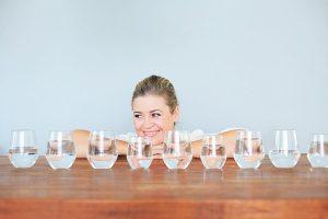 uống nước giúp giảm cân