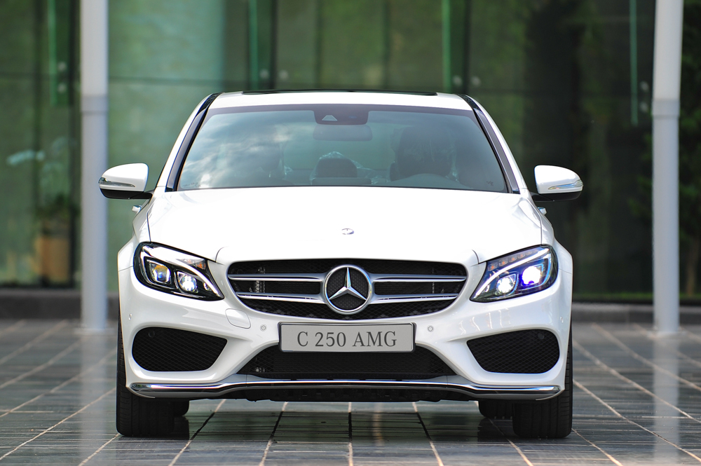 thiết kế Mercedes-C250-AMG