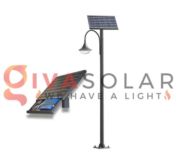Pin dự trữ của đèn đường năng lượng mặt trời