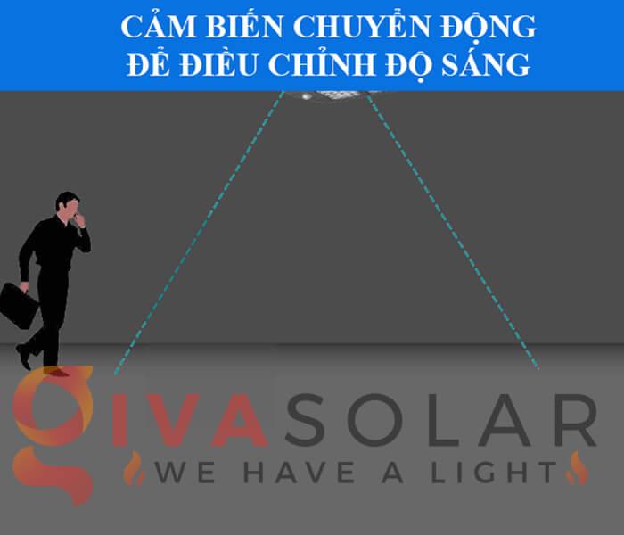 Bộ cảm biến quang của đèn đường năng lượng mặt trời