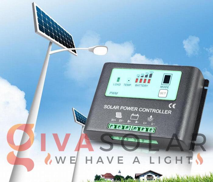 Bộ điều khiển của đèn đường năng lượng mặt trời